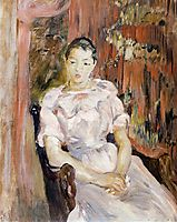 Young Girl Resting, 1894, morisot
