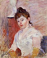 Young Girl in White, morisot