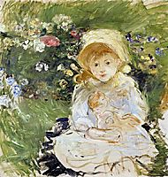 Young Girl with Doll, 1883, morisot