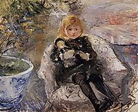 Young Girl with Doll, 1884, morisot
