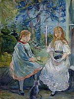 Young Girls at the Window, 1892, morisot