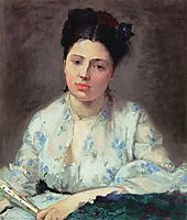 Young Woman, 1871, morisot