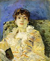 Young Woman on a Couch, 1885, morisot
