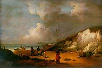 Coast Scene, 1792, morland