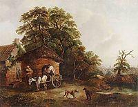 Cottage in Surrey, 1794, morland