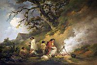 Gypsy Encampment, 1795, morland