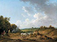 A Gypsy Encampment, 1798, morland