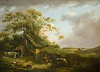 Landscape (Storm Cloud), morland