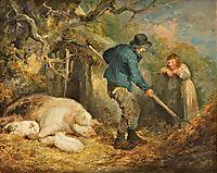 The Piggery, 1791, morland