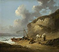 Sea-Coast Scene, Smugglers, 1793, morland