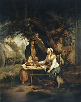 Selling Carrots, 1795, morland