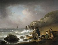 Shooting Sea Fowl, 1795, morland