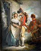The Soldier-s Departure, 1791, morland