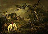 Watering Horses, 1791, morland