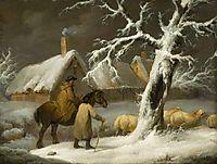 Winter Landscape, morland