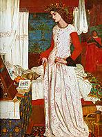 La belle Iseult, 1858, morris