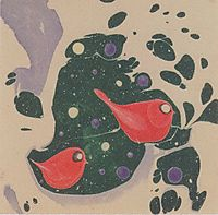 Animal motif for a picture book, c.1904, moser