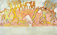 Clash of the Titans, c.1915, moser