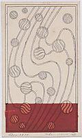 Daghestan rug design bubbles for Backhausen, 1899, moser