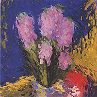 Hyacinths, c.1910, moser
