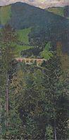 Landscape in Semmering, c.1907, moser