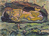 Mermaid, 1914, moser