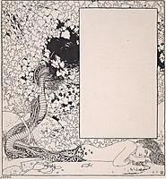 Mermaid. Illustration for Jugendschatz German seals., c.1896, moser