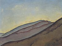 Mountain slope, c.1913, moser