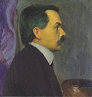 Self-portrait, c.1910, moser