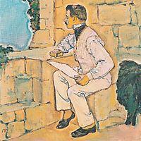 Self-portrait, c.1914, moser