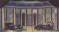 Stage design for -The Phantom- of Hermann Bahr, 1913, moser