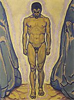 Standing youth, c.1915, moser