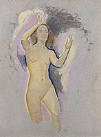 Study for Venus in the Grotto, c.1914, moser