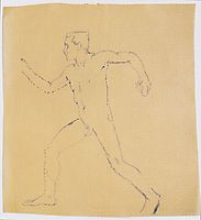 Study for The Wanderer, c.1914, moser