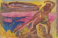 Wotan and Brunhilde, c.1915, moser