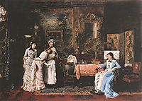 Baby Visitors, 1879, munkacsy