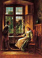 Conversation, 1889, munkacsy