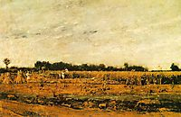 Corn Field, 1874, munkacsy