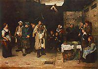 Drifters in the Night, 1873, munkacsy