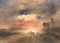 Dusty Country Road II, 1883, munkacsy