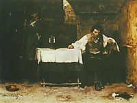 The Last Day of a Condemned Man, 1872, munkacsy