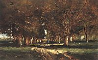 Line of Trees, 1886, munkacsy