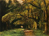 Park in Colpach, 1886, munkacsy
