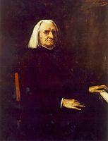 Portrait of Franz Liszt, 1886, munkacsy