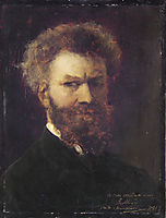 Self-Portrait II, 1881, munkacsy