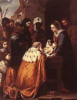 Adoration of the Magi, 1655-1660, murillo
