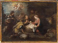 Adoration of the Shepherds, murillo