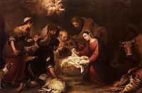 Adoration of the Shepherds, c.1668, murillo