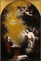 The Annunciation, murillo