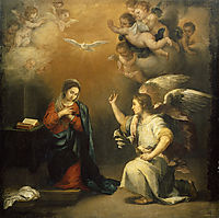 The Annunciation, 1680, murillo